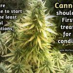a least harmful medicine